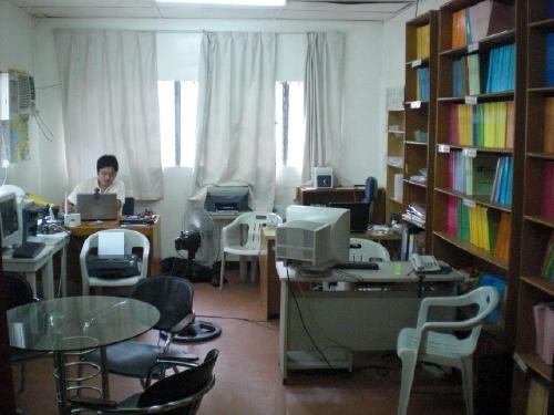 事務室|CIPクラーク|フィリピン留学 *事務室* *AVR* *AVR* *食堂*  フィリピ